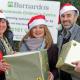 Murray Patt accountant makes special delivery to Barnardos